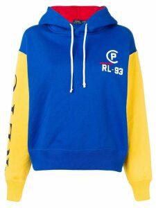 Polo Ralph Lauren contrast sleeve hoodie - Blue
