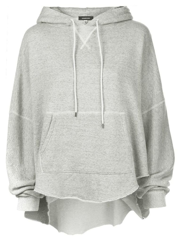 R13 oversized basic hoodie - Grey