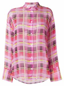MSGM checked shirt - Pink