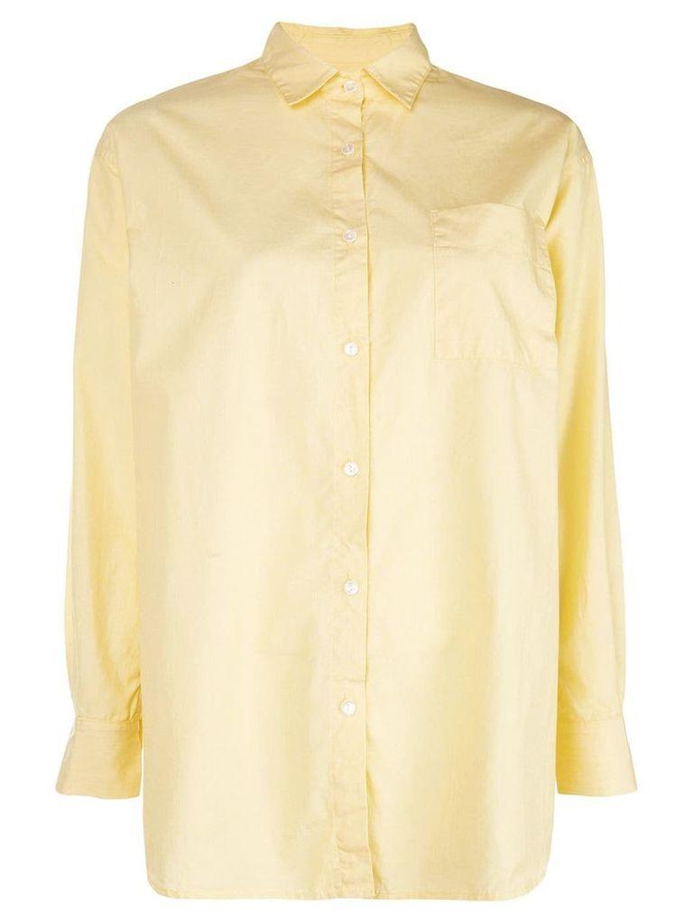 A Shirt Thing chest pocket shirt - Yellow