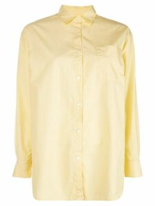 A Shirt Thing chest pocket shirt - Yellow