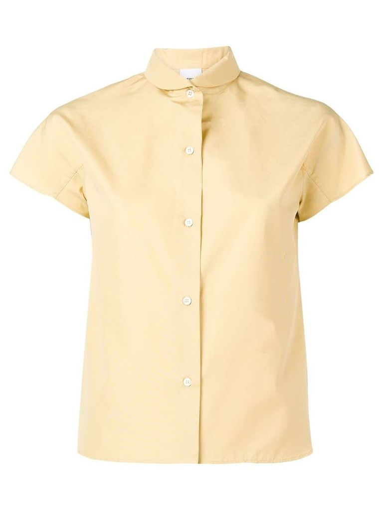 Aspesi short-sleeved shirt - Yellow