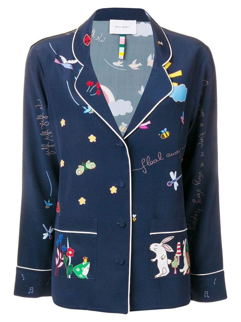Mira Mikati Fairy Tale print shirt - Blue