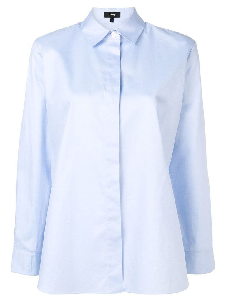 Theory classic shirt - Blue