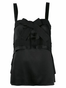 3.1 Phillip Lim bow front tank top - Black