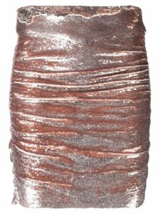 Iro sequin mini skirt - Gold