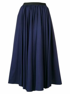 Antonio Marras flared midi skirt - Blue