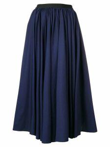 Antonio Marras flared midi skirt - Blue