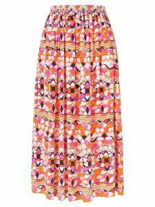 Emilio Pucci printed midi skirt - Multicolour