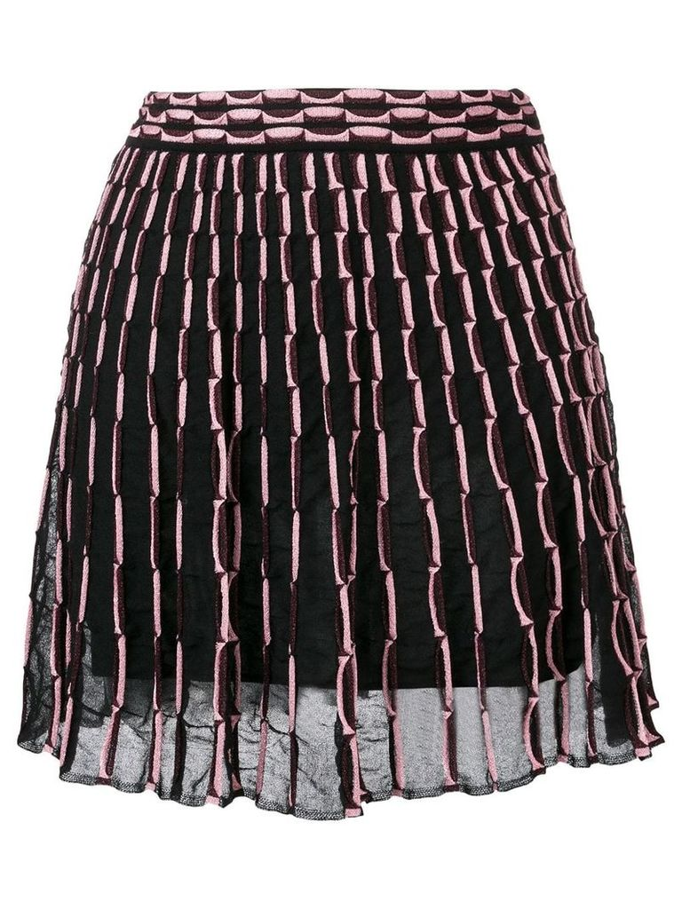 M Missoni patterned skirt - Black