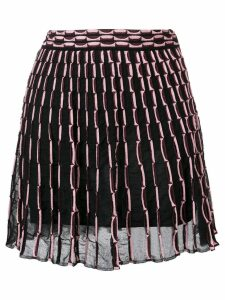 M Missoni patterned skirt - Black