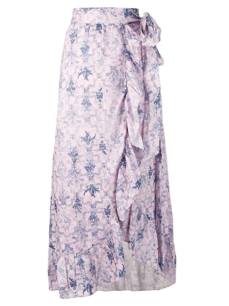Isabel Marant Étoile Alda wrap skirt - Pink