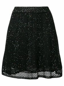 M Missoni sequin embroidered skirt - Black