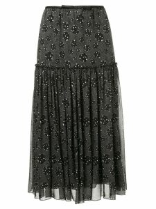 Giambattista Valli dotted print skirt - Black