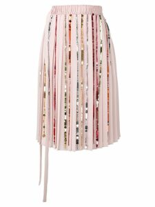 Marco De Vincenzo sequin embellished skirt - Pink