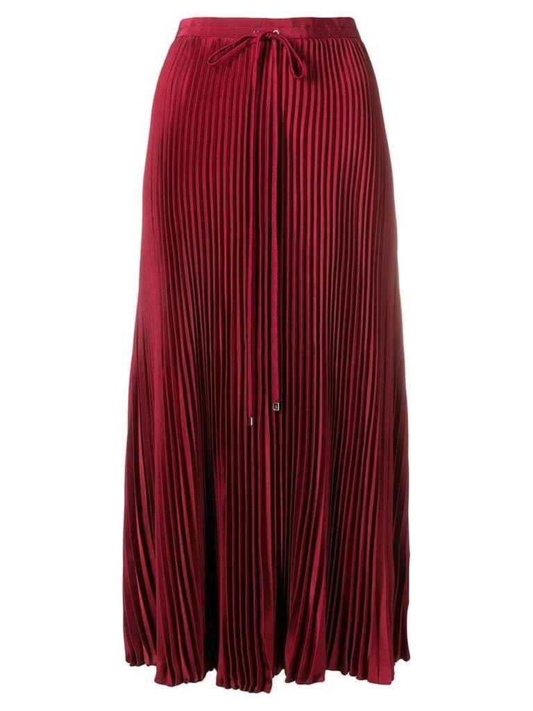 Tibi midi pleated skirt - Red