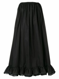 Miu Miu pleated midi skirt - Black