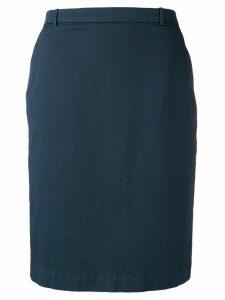 Fabiana Filippi short straight skirt - Blue