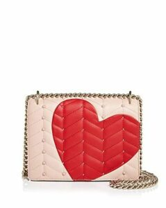kate spade new york Heart It Marci Convertible Leather Shoulder Bag