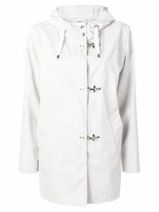 Fay midi parka coat - White