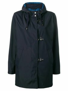 Fay midi parka coat - Blue