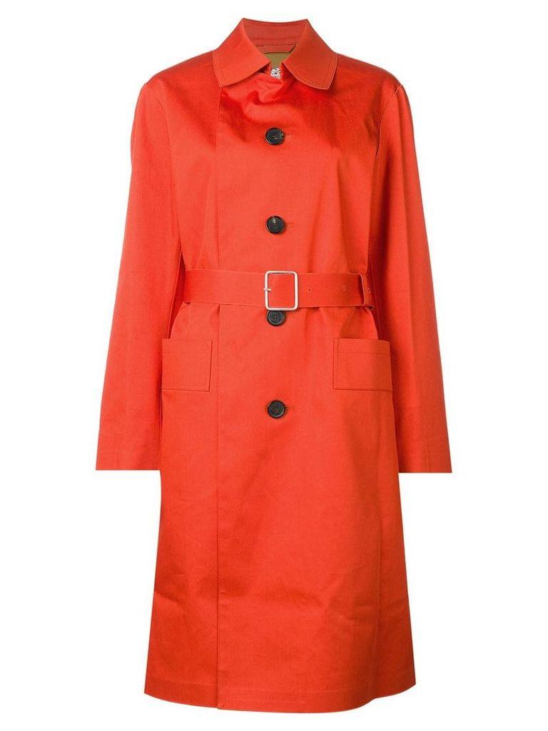 Golden Goose belted trench coat - Orange