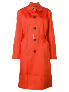 Golden Goose belted trench coat - Orange