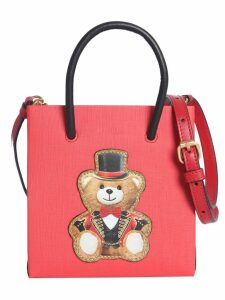 Moschino Tote Bag In Leather
