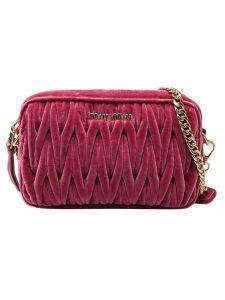 Miu Miu Velvet Crossbody Bag