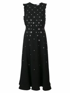 Red Valentino RED Valentino floral sequinned maxi dress - Black