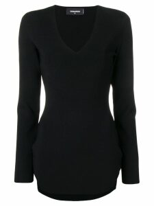 Dsquared2 fitted short dress - Black