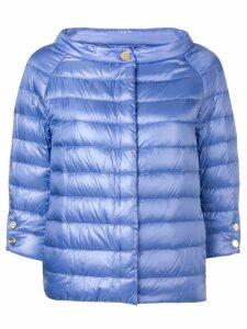 Herno three-quarter sleeve jacket - Purple