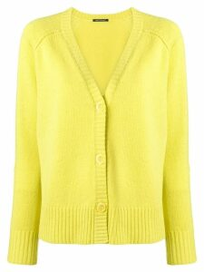 Luisa Cerano V-neck cardigan - Yellow