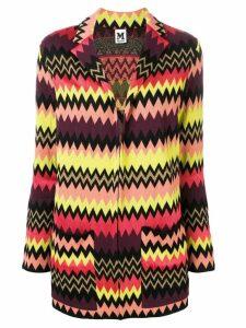 M Missoni zigzag cardigan-blazer - Black