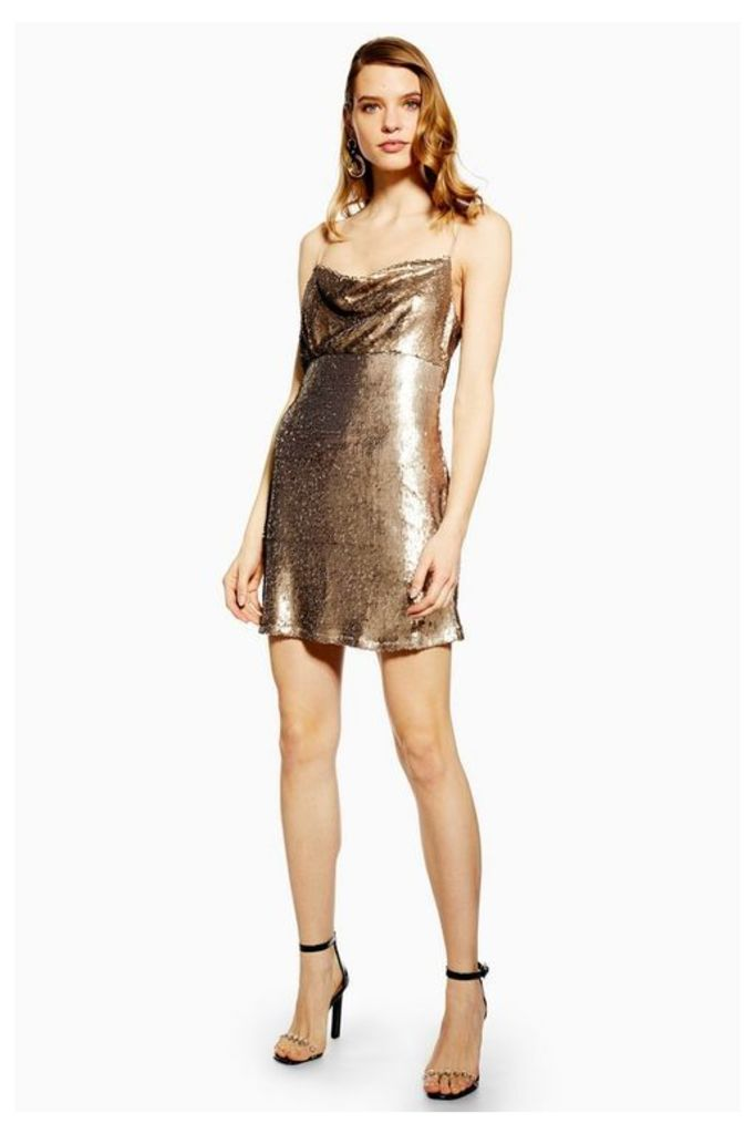 Womens **Move Closer - Champagne Morning Dress By Wyldr - Bronze, Bronze