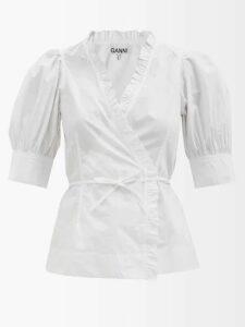 Prada - Bouquet Brocade Flared Mini Dress - Womens - Black