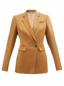 Stella Mccartney - Double Faced Wool Cocoon Coat - Womens - Grey