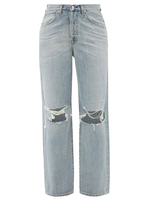 A.p.c. - Ribbed Knit Merino Wool Sweater - Womens - Green