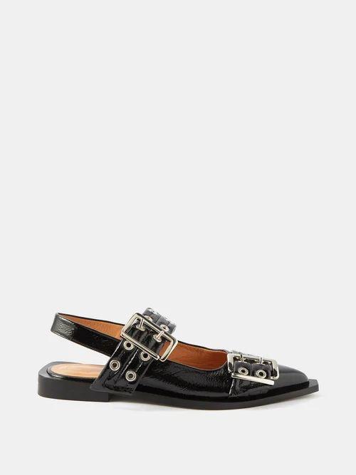 Le Kilt - Menzie 65cm Tartan Wool Kilt - Womens - Black Multi