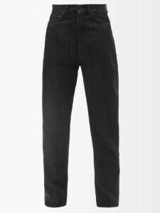 Goat - Flavia Contrast Panel Wool Crepe Dress - Womens - Red
