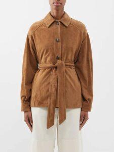 Dolce & Gabbana - Ostrich Feather Cropped Bolero Jacket - Womens - Beige Multi