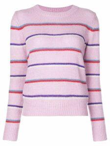 Isabel Marant Étoile striped knitted jumper - Pink