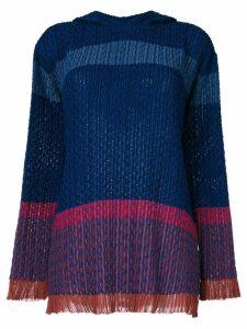 Stella McCartney hooded sweater - Blue