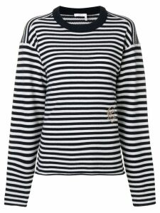 Chloé striped jumper - Blue