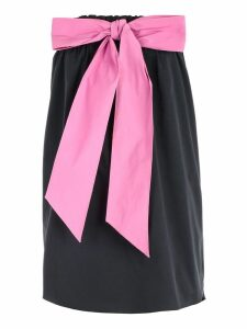 N.21 Strapless Bow Dress