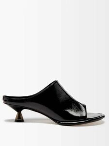 Alexachung - Double Breasted Cotton Twill Blazer - Womens - Dark Green