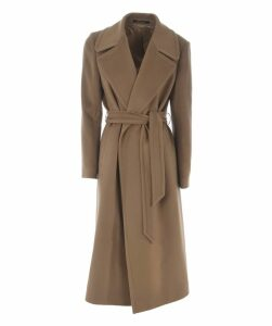 Long Length Belted Coat