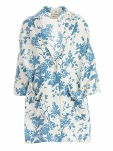 SEMICOUTURE Floral Printed Coat
