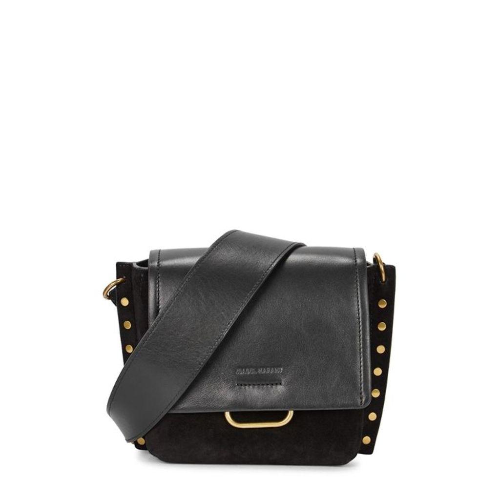 Isabel Marant Kleny Black Leather Cross-body Bag