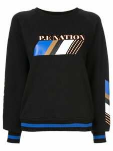 P.E Nation Elite Run sweatshirt - Black